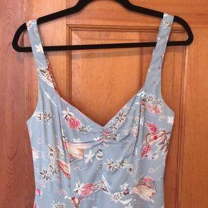 Reformation Hawaiian Print Mini Dress Size 6